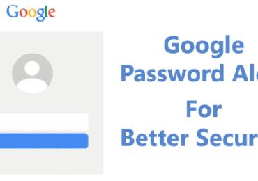 Password Alert per account Google