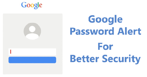 Password Alert per account Google