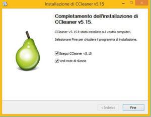 installazione di ccleaner