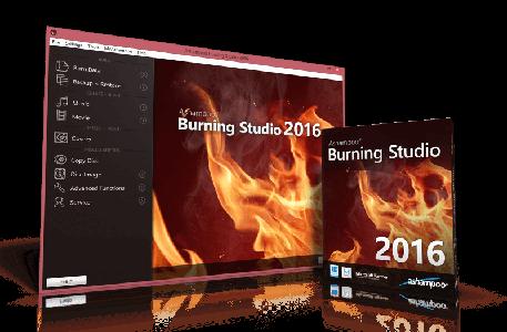ashampoo burning studio2016 per la masterizzazione