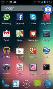 catturare schermo android