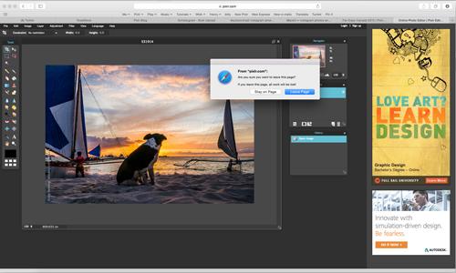 pixlr per modificare immagini online