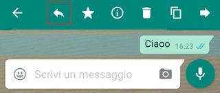 Rispondi citando con WhatsApp
