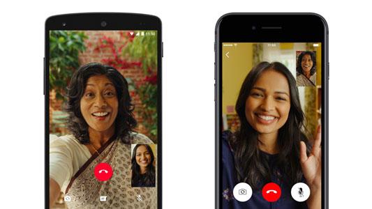 Effettuare videochiamate WhatsApp