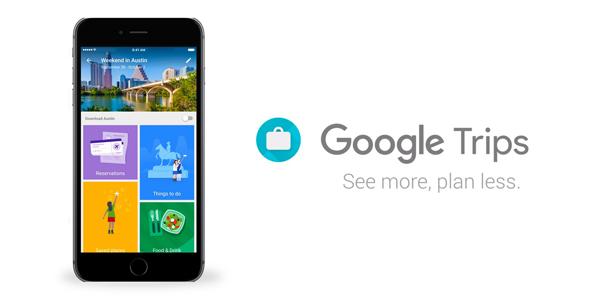 google trips app per viaggiare