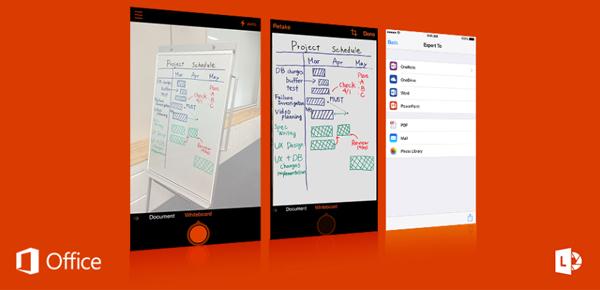 Office Lens, l'app per catturare documenti con lo smartphone