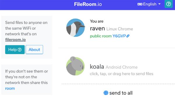 condivisione file con fileroom