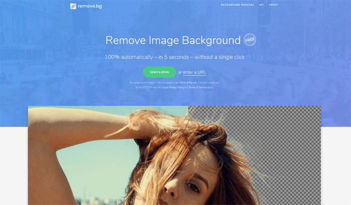 remove image background