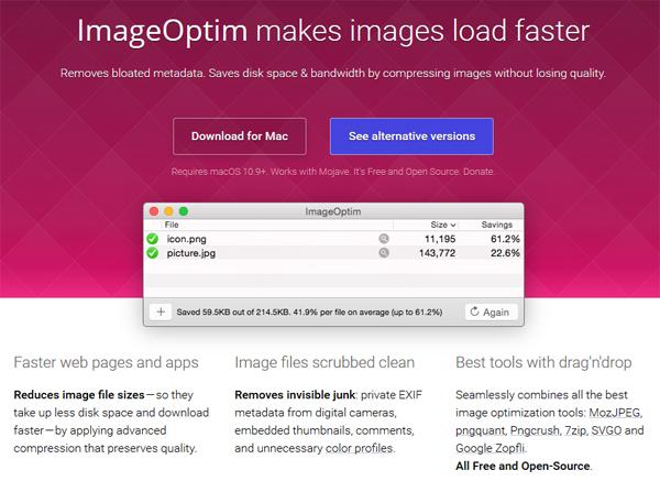 Ridurre dimensioni foto per il web