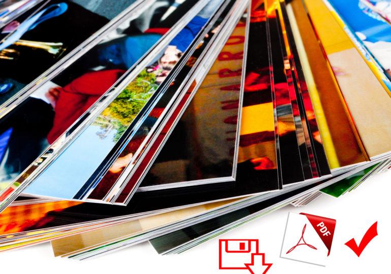 Convertire immagini in PDF con Windows