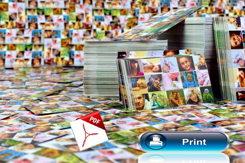 convertire immagini in pdf con windows 10