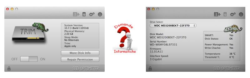 verificare usura disco fisso con chameleon ssd optimizer